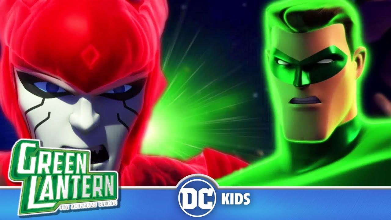 Download Green Lantern: The Animated Series | Red Lantern vs Green Lantern | @DC Kids