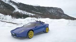 Manifattura Automobili Torino • New Stratos in the snow