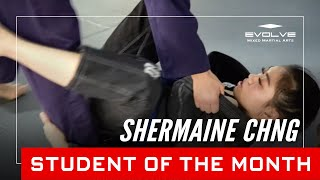 Evolve MMA | Student of the Month: 26-year-old Shermaine Chng