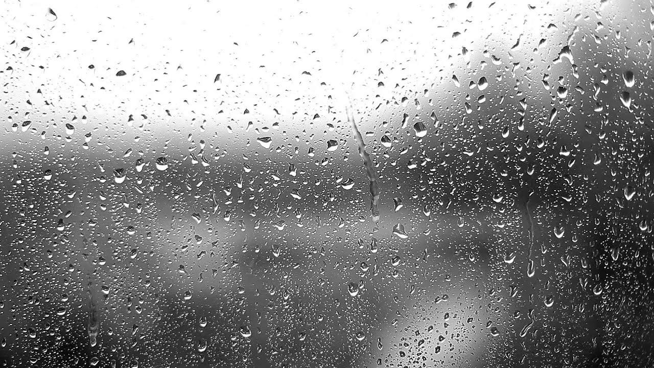 Rain Drop Wallpaper Hd Raindrops On The Window Youtube