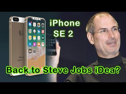 New Iphone SE 2 Release Soon? Back To Steve Jobs Idea?