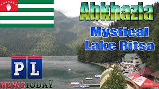 One of Abkhazia's Deepest Lake, Mystical Lake Ritsa