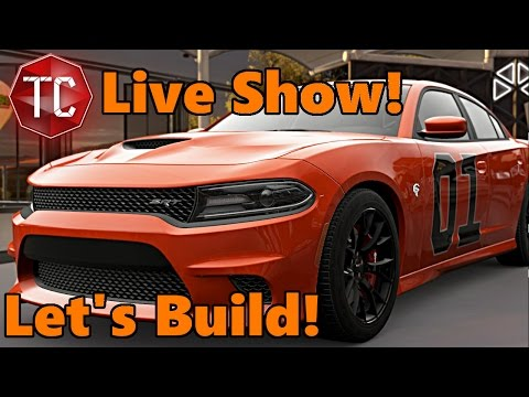 Forza Horizon 3 | The TC Live Show! | Let's Build WEIRD CARS!