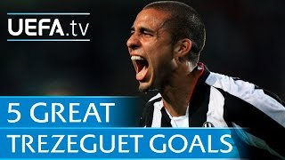 Five great Trezeguet goals