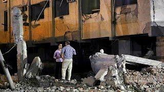 فيديو - إصابة 30 شخصا في انفجار سيارة ملغومة خارج مقر أمني بالقاهرة