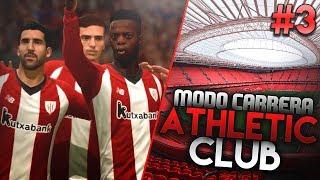 LA PANTERA ONFIRE & PARTIDO CONTRA EL REAL MADRID! | FIFA 19 Modo Carrera: Athletic Club #3
