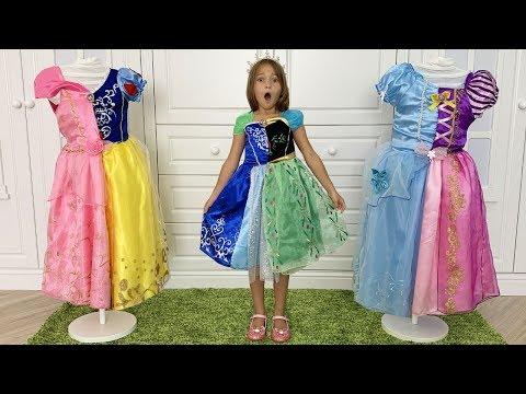 София и Принцессы хотят одно и тоже Платье для конкурса Красоты