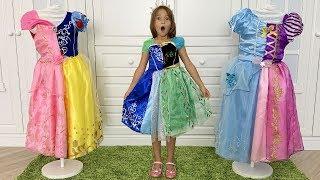 Sofia and Princess want the same dress