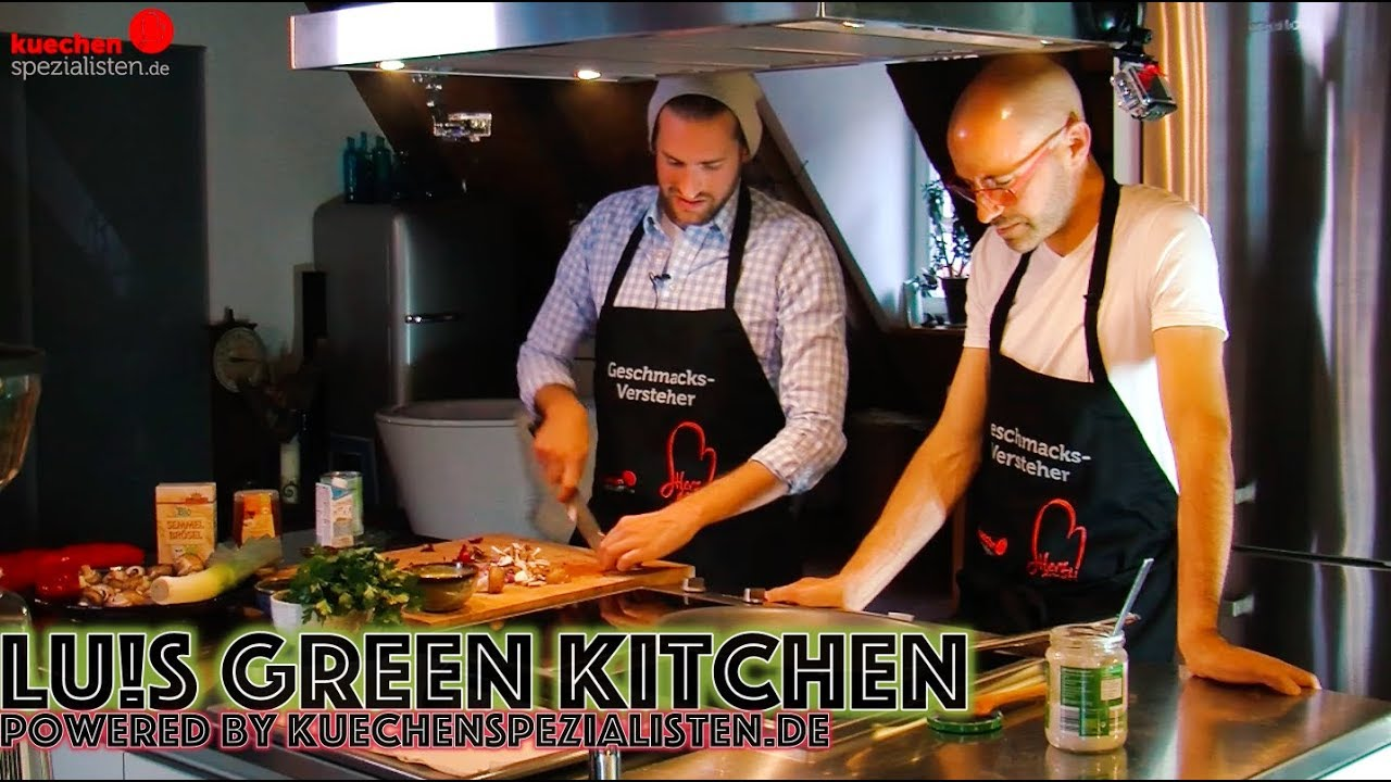 Lus Green Kitchen Powered By Kuechenspezialistende Youtube