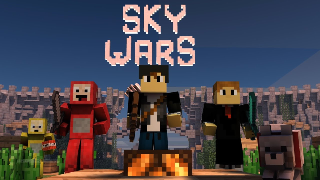 Skywars Server Gamers 2 - YouTube