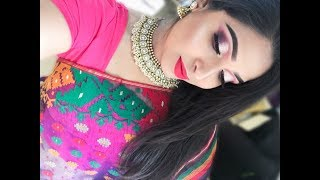 DESI WEDDING PARTY MAKEUP | ASIAN GRWM 2017 | SHAHNAZ SHIMUL