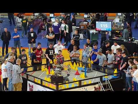 VEX In The Zone Ohio State Championship Final Match #1 598B 7221R vs 2011F 1344A