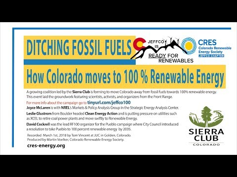 Ditching Fossil Fuels: Colorado Moves To 100% Renewable Energy