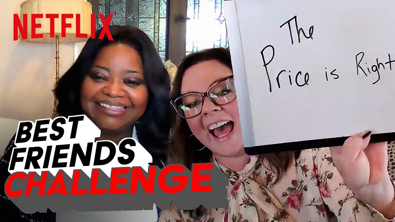 Melissa McCarthy and Octavia Spencer Take the  BFF Challenge