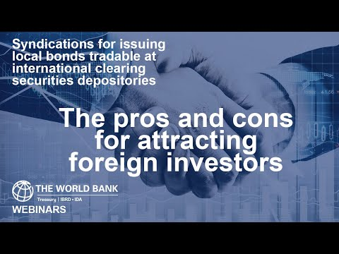 The pros and cons for attracting foreign investors