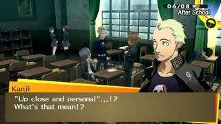 [HD] [PS Vita] Persona 4 Golden - New Scene: Scooter License