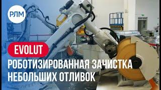 EVOLUT роботизированная зачистка небольших отливок