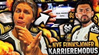 NORGES første FINALE på KARRIERE MODUS *med REAL MADRID* på FIFA 19 💼📝 *KARRIERE med REAL MADRID*