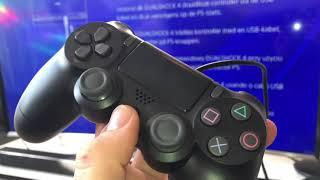 Sony PlayStation 4 - Konṡole einrichten, anklemmen und einstellen Spielekonsole Montage Anleitung