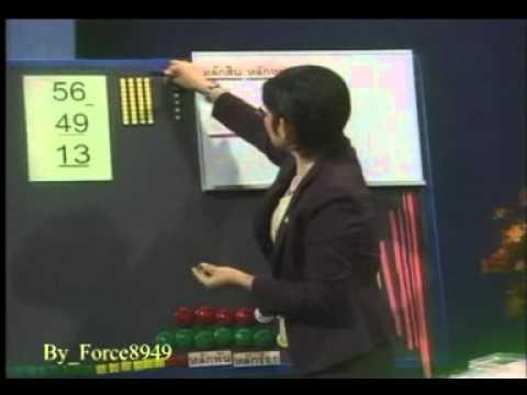 อบรมครู วิทย์ คณิต สสวท ระดับประถม ความเข้าใจคลาดเคลื่อนเกี่ยวกับการบวกและการลบ Force8949 3 of 4