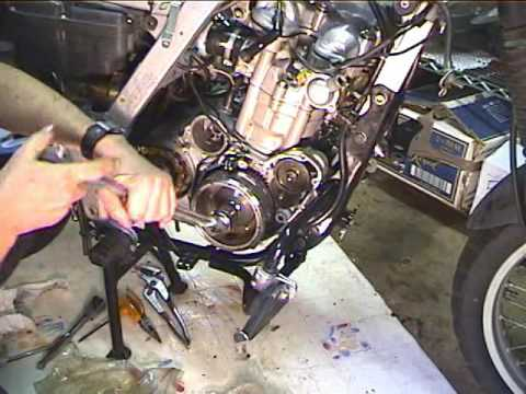 How to replace an alternator and starter motorcycle for Motorcycle starter motor repair