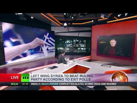 William Mallinson interview with RT International on Greek general election