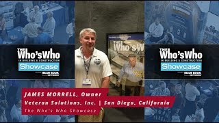 James Morrell of Veteran Solutions Reviews The Who