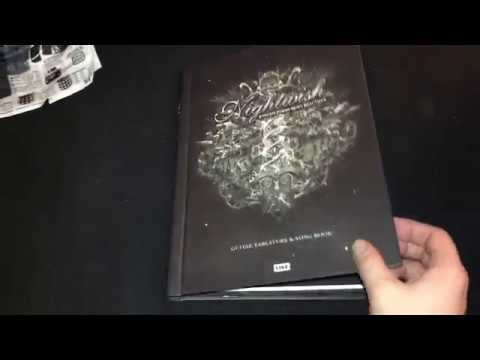 NIGHTWISH - ENDLESS FORMS MOST BEAUTIFUL Guitar Tablature & Song Book