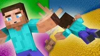 Прохождение карт в Minecraft: СВОБОДНОЕ ПАДЕНИЕ!