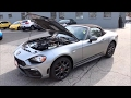 Every angle of the Fiat 124 Spider Abarth and exhaust sound
