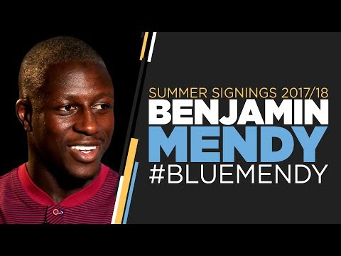 BENJAMIN MENDY SIGNS FOR MAN CITY! | First Interview