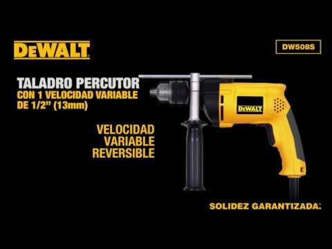 Taladro Percutor 1/2 800w Profesional DW508S