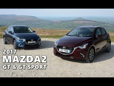 2017 mazda2 gt and gt sport - exterior, interior - youtube