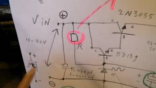 Zener diode properties & how to get a 4-5 A stabilized hum free voltage to supply a (pre) amp