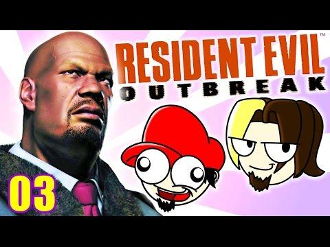 O BOT É UM GROSSO – Resident Evil Outbreak  #03   SOFACHITO