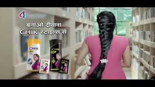 2015 CHIK Egg White Protein Shampoo Television Commercial | CHIK Wave Style (Hindi)