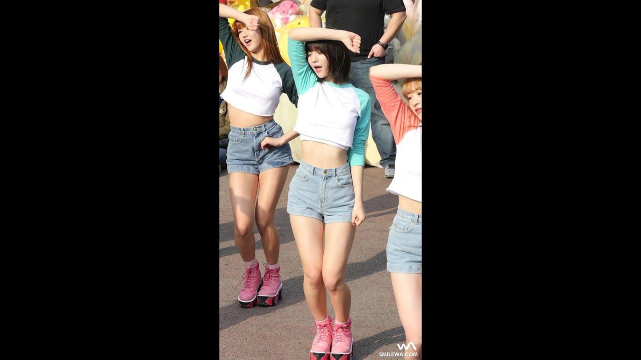 160402 오마이걸(OH MY GIRL) 비니 - CUPID @홍대 게릴라 공연 직캠/Fancam by -wA-
