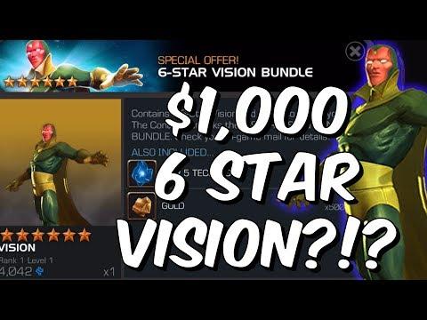 $1,000 6 Star Awakened Vision Offer - Marvel Contest Of Champions