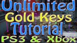 Borderlands 2: GLITCH Infinite Golden Keys ( PS3 & XBOX) Tutorial
