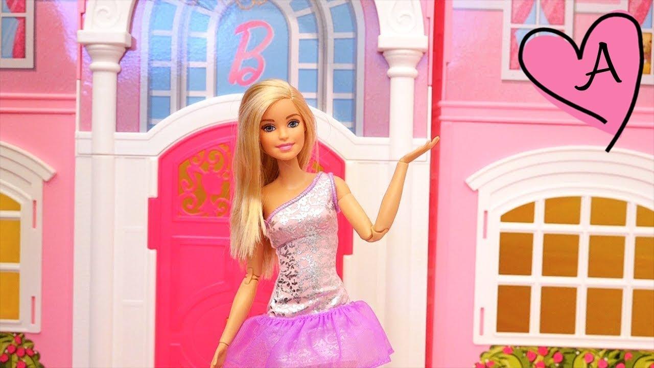 Mi nueva casa de muñecas, un Tour de la mansión de Barbie - Juguetes ...