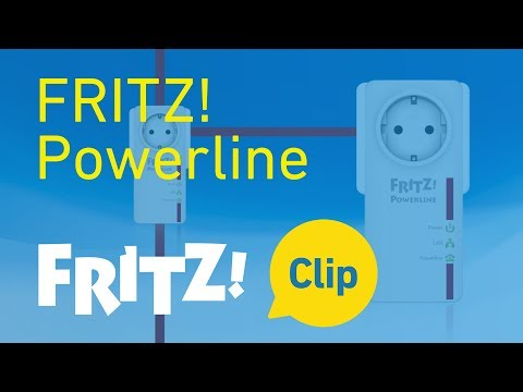 AVM FRITZ! Clip: Powerline - the home network at every outlet
