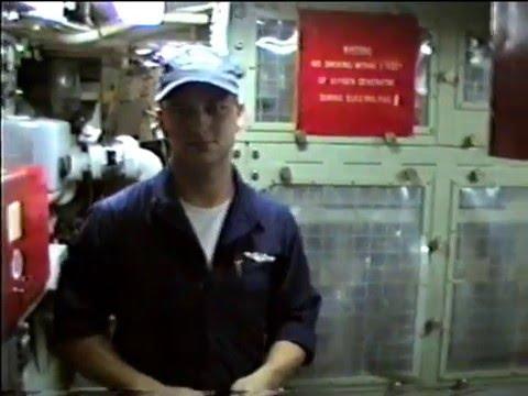 Tour of USS Trepang SSN 674