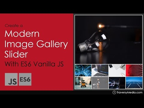 Modern Image Gallery With ES6 Vanilla JavaScript