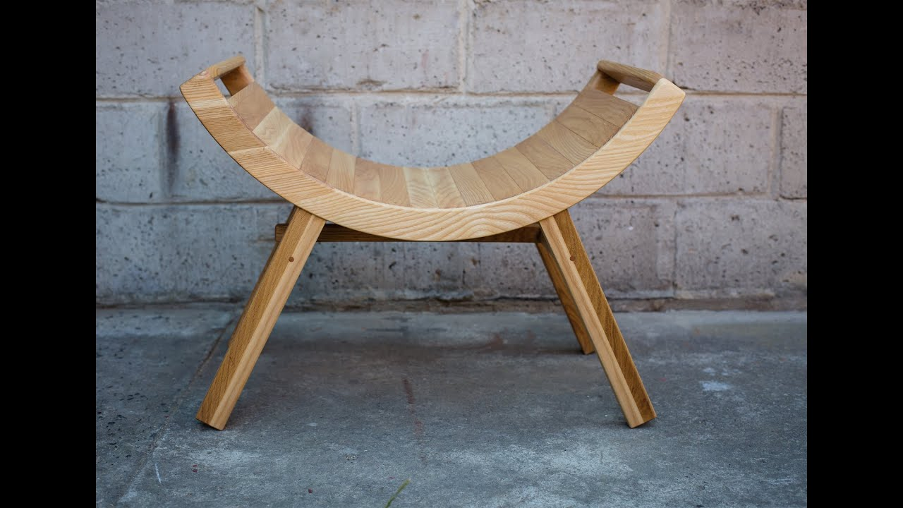 Diy Photography Props Custom Wooden Curved Bench Chair Wygi Ty Taboret Krzes O