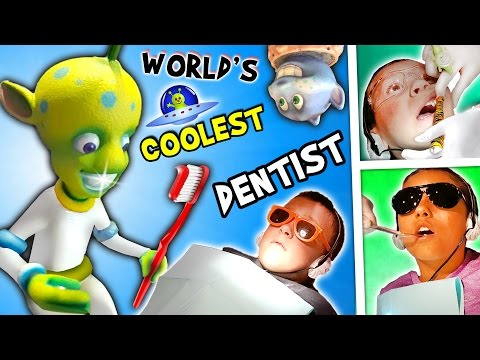 Thumbnail: WORLD'S COOLEST DENTIST!! Outer Space Cavities Search / Bloody Storm / Wisdom (FUNnel Vision Vlog)