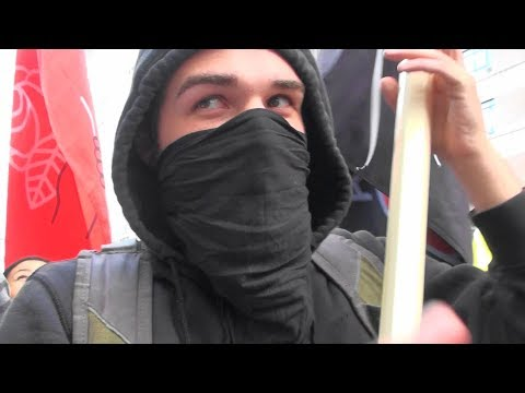 """We Are Leftists, Socialists, Anarchists With No Program""-Antifa Explained To Former Soviet Citizen"