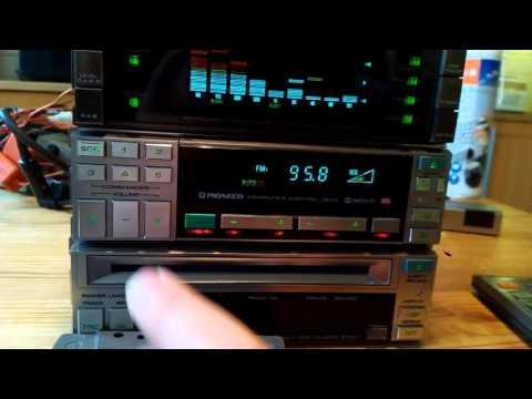 80's Car-hifi: Pioneer vintage Fx-k9 radio test