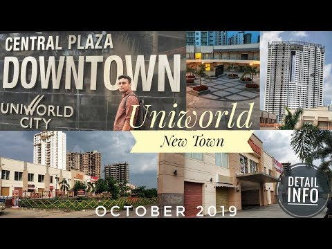 UNIWORLD DOWNTOWN MALL || UNIWORLD CITY, NEW TOWN, KOLKATA || DETAILED INFORMATION || GROUND REALITY