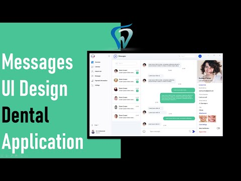 6--messages-c#-ui-design---dental-application-winform-app-guna-framework