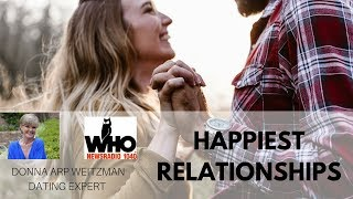 Which Relationships are the Happiest? | Donna Arp Weitzman, Dating Expert